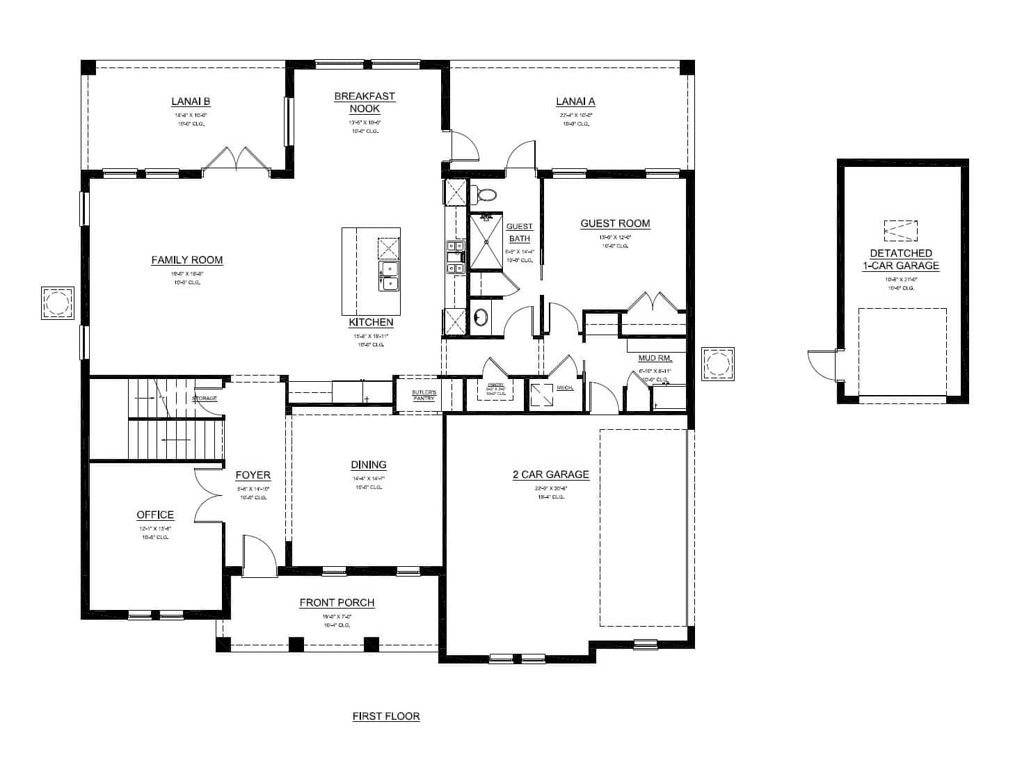 St thomas turain signature homes for Signature home designs