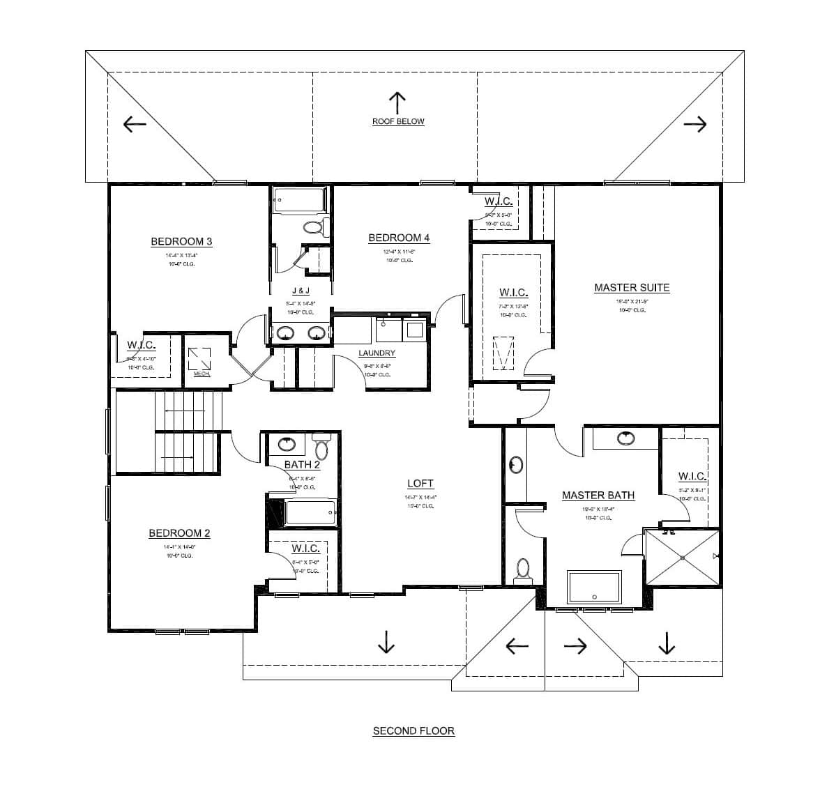 Signature homes floor plans st thomas turain signature homes for Signature home designs