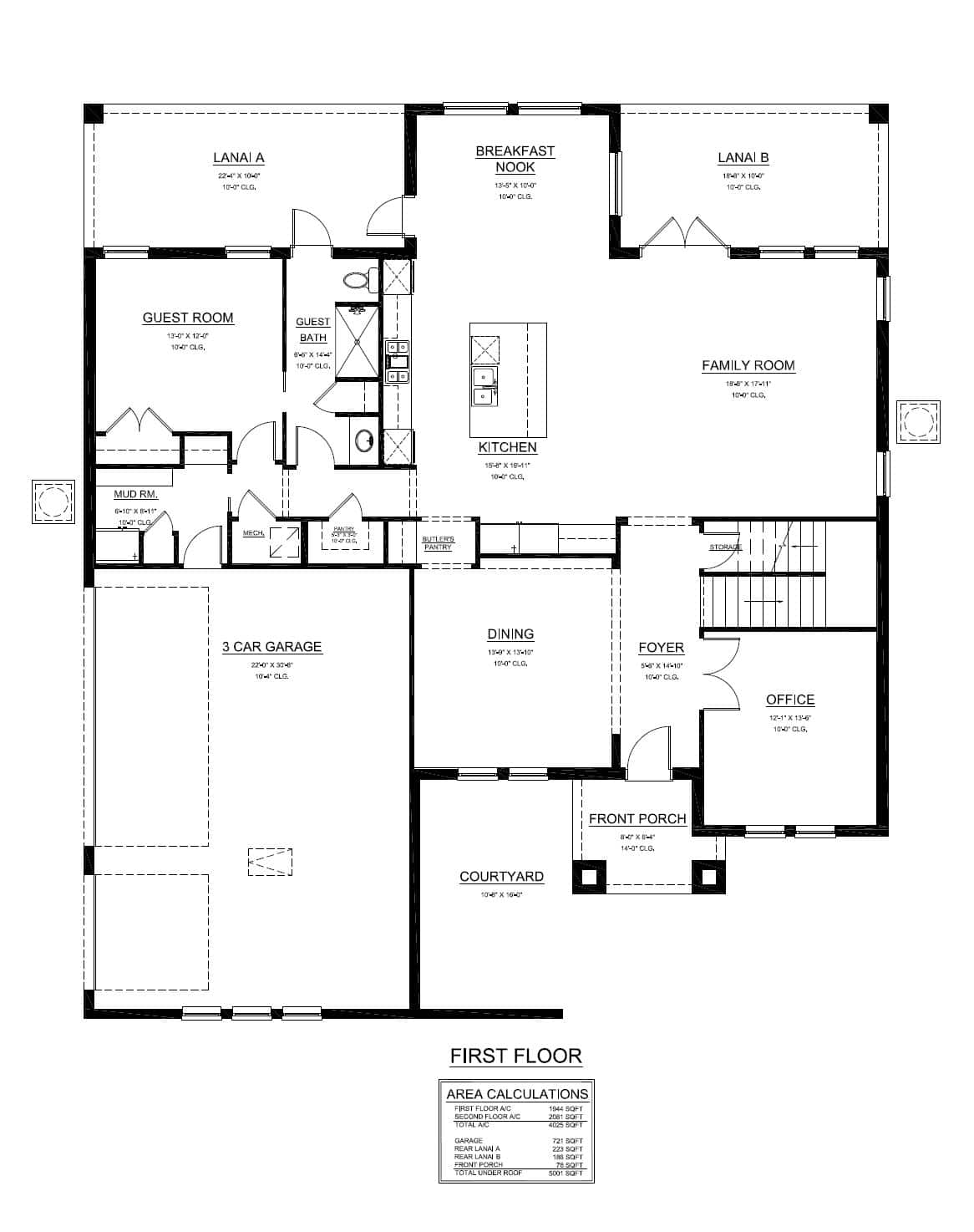 St george turain signature homes for Signature house plans